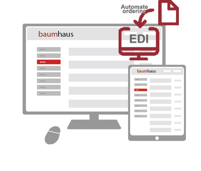 Baumhaus automation EDI account management