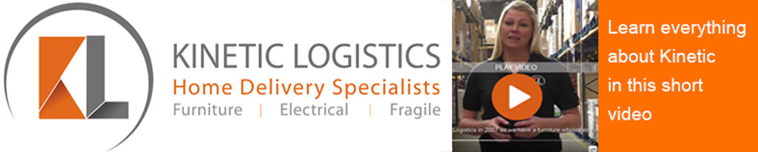 kinetic logistics furniture delivery banner