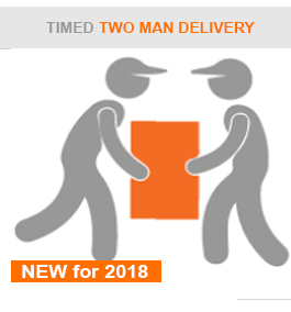 two man delivery logo