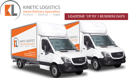 Kinetic logistics vans logo