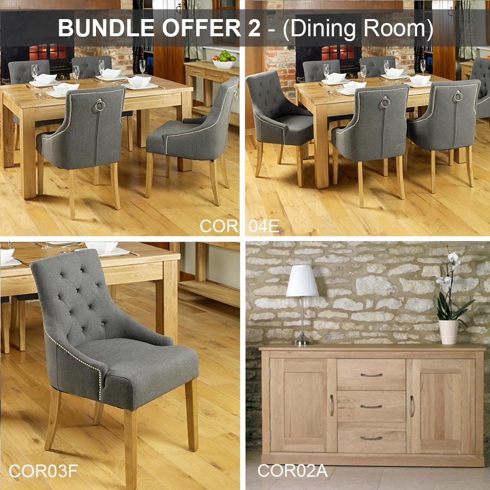bundle 2 mobel oak dining room